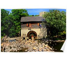 Grant Cuthbert Old Mill Poster