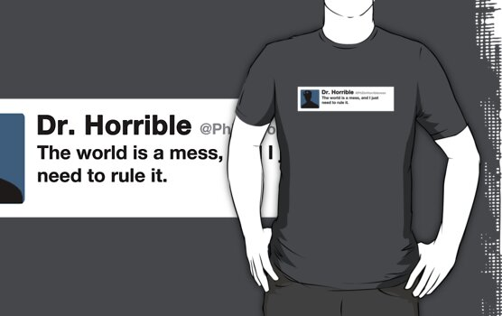 Dr. Horrible's Twitter by Shaun Beresford