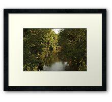 The Bark River Framed Print
