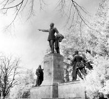 Kossuth Memorial, Lajos Kossuth Square, Budapest by Rodney Johnson
