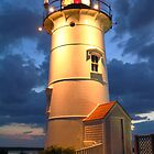 Nobska Point Light by Roupen  Baker