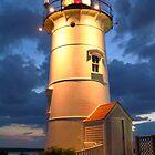 Nobska Point Light by Roupen  Baker