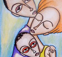 Three Heads by The Street Child Project