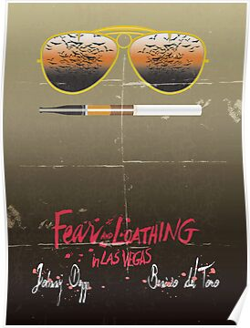 Minimalist Fear amd Loathing  by buzatron