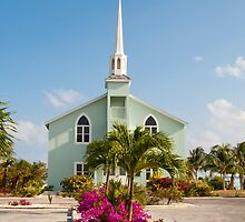 Little Cayman church by Jaime Pharr