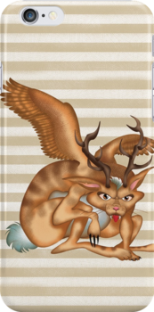 Wolpertinger (brown) by makoshark