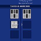 Tardis Music Box Case by Lyndsay Brown