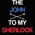 John to my Sherlock (Black) by KitsuneDesigns