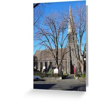 St Mark's Anglican church, Fitzroy Greeting Card