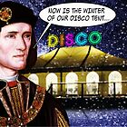 'Now is the Winter of our Disco tent' by DilettantO