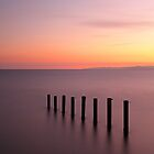 Saltcoats Sunset by Grant Glendinning
