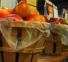 Bushels of Apples by Nevermind the Camera Photography