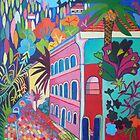 Entrance to the Caldas de Monchique by Liz Allen