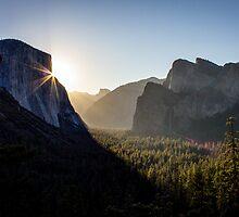 Sunrise, Yosemite Valley by Philip Kearney