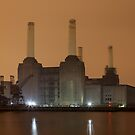 Battersea Power Station by Peter Tachauer