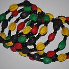 Pretty hand crafted beads from Kenya by Tracey Hampton