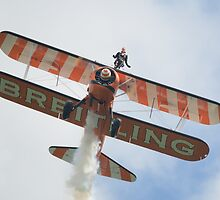 Breitling Wingwalker  by Nigel Bangert