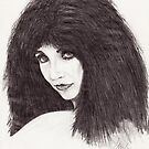 Kate Bush (1982) by John D Moulton