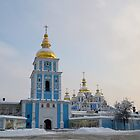 St. Michael&#x27;s Golden-Domed Monastery by Anton Gorlin