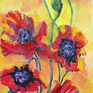 WILD Poppies by bevmorgan