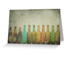 Bottled Memories Greeting Card