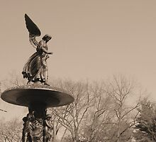 Angel of Central Park NYC by James McHugh