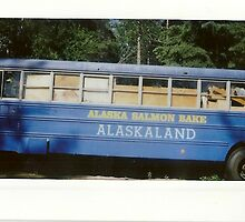 alaskaland bus. by Stephanie Welling