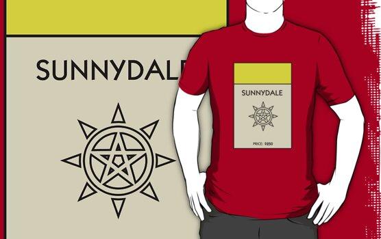 Sunnydale Monopoly (Buffy the Vampire Slayer) by WalnutSoap