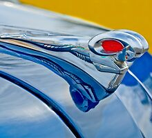 1951 Dodge Pilot House Pickup Truck Hood Ornament by Jill Reger