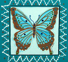 Jeweled Butterfly by Maggie Miller