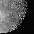 Moon Close up, Waning Gibbous by Bill  Watson