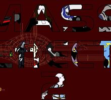 Mass Effect 2 Crew by factfly