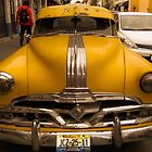 Antique Yellow Car by mamasita