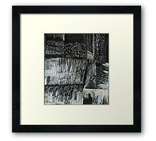 yes and no Framed Print