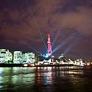 The Shard Laser Show by Karen Martin IPA