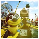 Bee Ride Coney Island by NarelleH