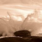 Exploding Waves - Redgate by Karen Stackpole