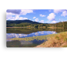 lake clarrie hall... Canvas Print
