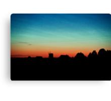 Sunset, Hiiumaa Canvas Print