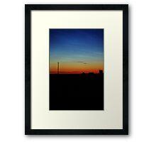 Hiiumaa, Sunset. Framed Print