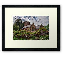 All Saints, Church, Somerset Framed Print