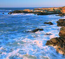 Lands End Seascape by Roupen  Baker