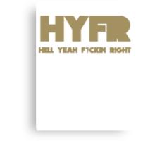 HYFR Canvas Print