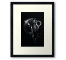 Dark Alley... Framed Print