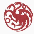 "House Targaryen ""Fire and Blood"" by VolcanoWear"