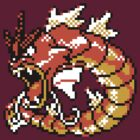 Red Gyarados Retro by DragonBoyAC
