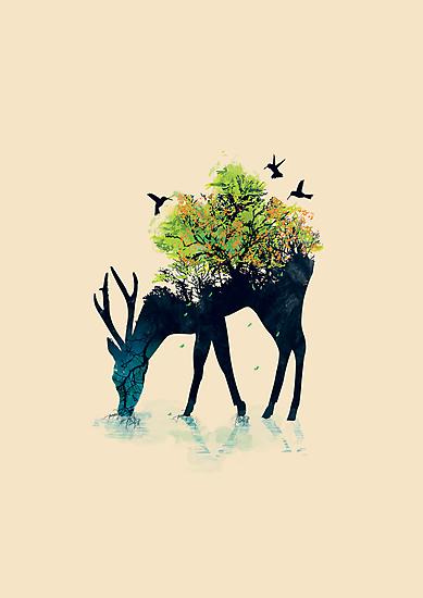 Watering - a life into itself by Budi Satria Kwan