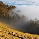 Mist and clouds on Vuache mountains by Patrick Morand