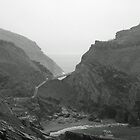 Tintagel Castle No.1 by blackbush