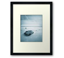 Silky Smooth Sea Framed Print